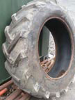 "Part No. 2689 28"" rear tyre 30% tread £50 + VAT & Carriage"