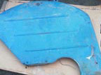 Part No. 2111 Fordson Major/Power Major mudguards,1 very good,1 needs repairing, £450 + VAT & Carriage