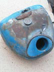 Part No. 2100 Fordson Super Major diesel Tank £150 + VAT & Carriage
