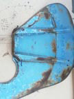 Part No. 2093 Fordson Major first made models 1 R/H mudguard only £350 + VAT & Carriage