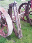 Part No.2339 Tasker living van chassis,would make traction engine trailer