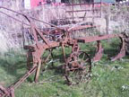 Part No. 2342 Ransomes 3 furrow trailer plough 90% complete £250 + VAT & Carriage