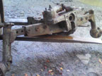 Part No. 4097 Massey Ferguson 575/590 and other models complete front axle £450 + VAT & Carriage