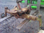 Part No. 4103 Massey Ferguson 65 complete front axle with support,could separate.
