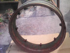 "Part No. 3925 36""wheel rim £80 + VAT & Carriage"