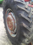 Part No. 4054 Massey Ferguson 65/165 14x28 rear wheels and tyres Tyres 90% £450 + VAT & Carriage