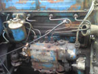 Part No. 4009 Fordson super major engine good starting running engine £850 + VAT & Carriage