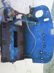 Part No. 2836 Fordson Major/super Battery tray etc £100 + VAT  & Carriage