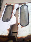 Part No. 2918 Fordson Lambourne front side windows £40 each + VAT & Carriage