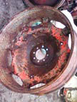 Part No. 2921 Fordson Major wheel rim £100 + VAT & Carriage