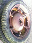 Part No. 2822 Rowcrop wheels £220 pair + VAT & Carriage